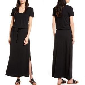 NWT Caslon cotton blend T-shirt maxi dress